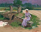 Painting - After Theodore Robinson